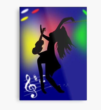 On Stage(3061 Views) Metal Print