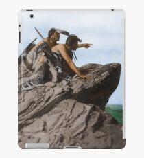 Watching The Herd - American Indians iPad Case/Skin