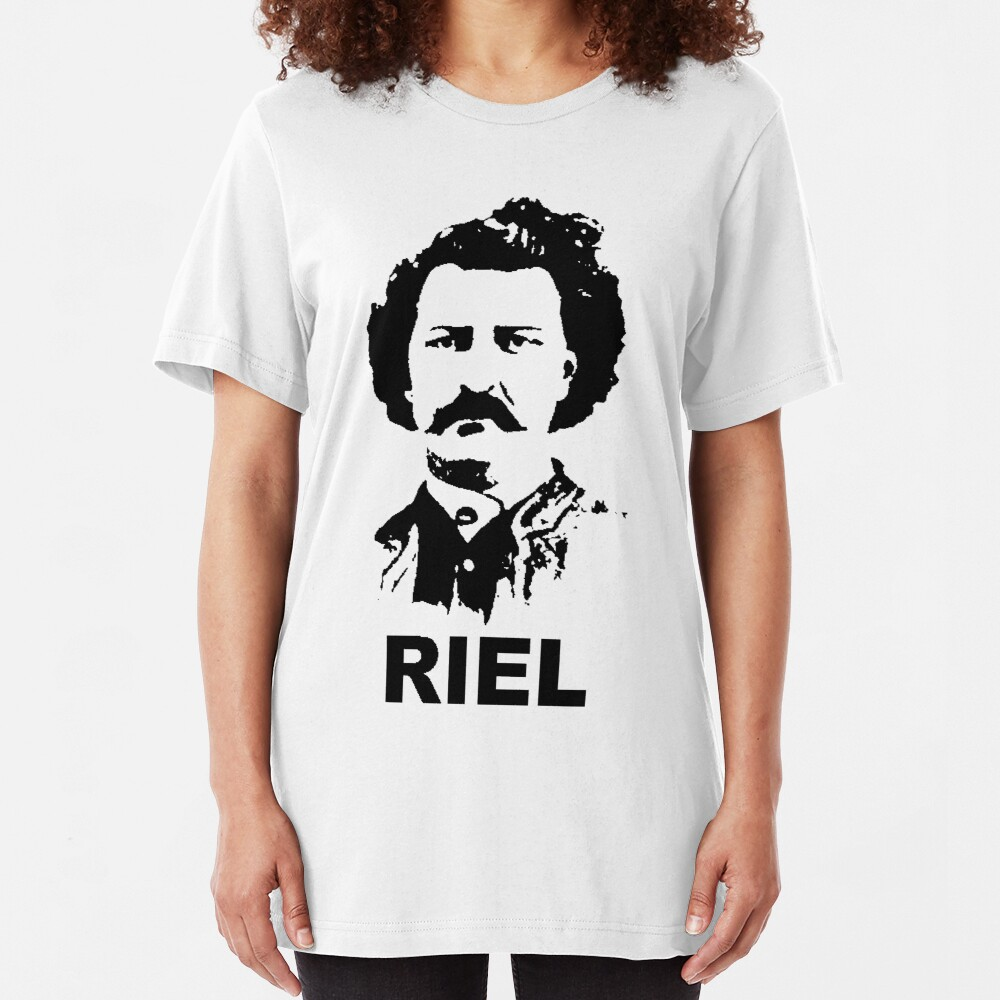Louis RIEL - Canadian Icon Slim Fit T-Shirt
