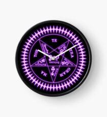 Sebastian Michaelis Sigil Light (black bg) Clock