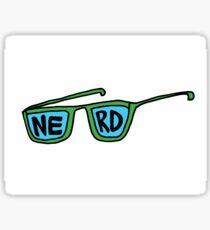 NERD GOGGLES Sticker