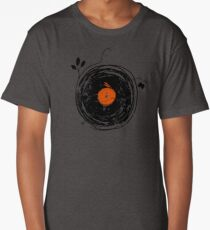 Enchanting Vinyl Records Vintage Long T-Shirt