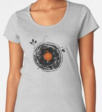 Enchanting Vinyl Records Vintage Women's Premium T-Shirt