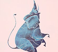 Elephant by saeiart