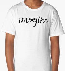 Imagine - John Lennon  Long T-Shirt