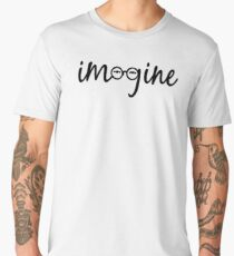 Imagine - John Lennon  Men's Premium T-Shirt
