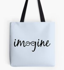 Imagine - John Lennon  Tote Bag