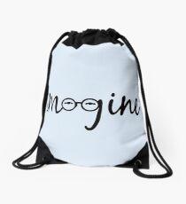 Imagine - John Lennon  Drawstring Bag