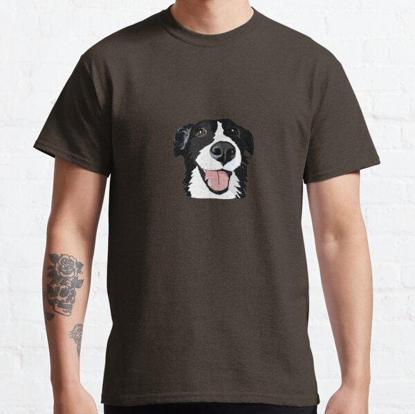 Smiley collie Classic T-Shirt