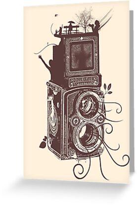 Retro Rolleiflex - Evolution of Photography - Vintage #2 by Denis Marsili