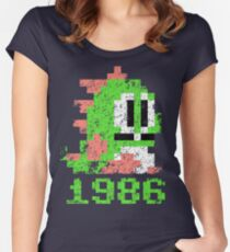 Bubble Bobble 1986 Women's Fitted Scoop T-Shirt