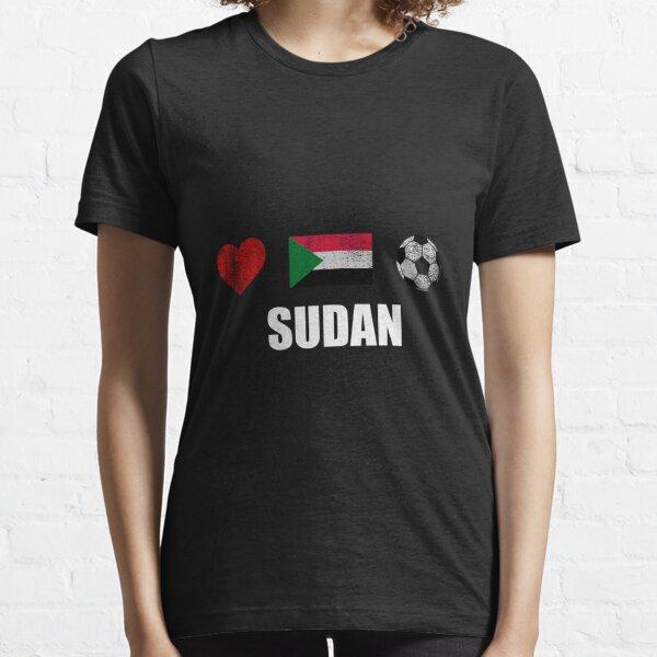 SUDAN FOOTBALL UNISEX SWEATER  TOP GIFT WORLD CUP SPORT