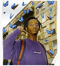 BUTTERFLY CARTI Poster
