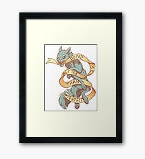 Done is Better Than Perfect Framed Print