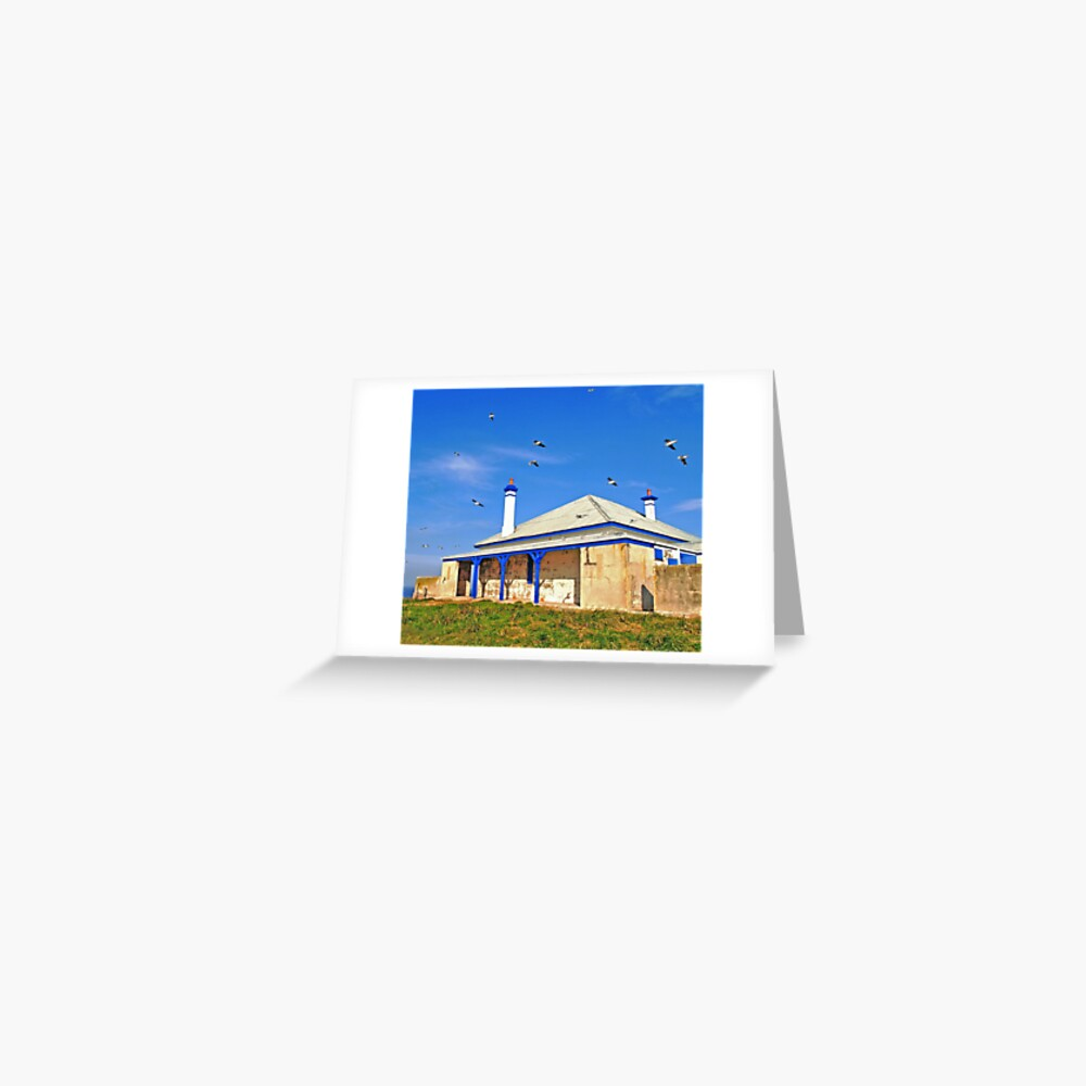 South Solitary Keepers Quarters Greeting Card