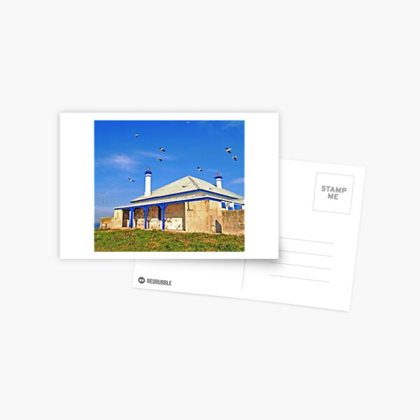 South Solitary Keepers Quarters Postcard