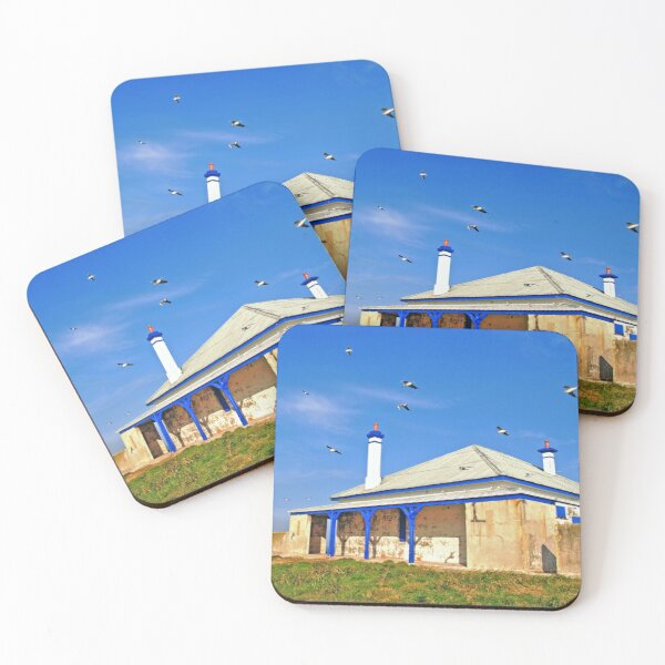 South Solitary Keepers Quarters Coasters (Set of 4)