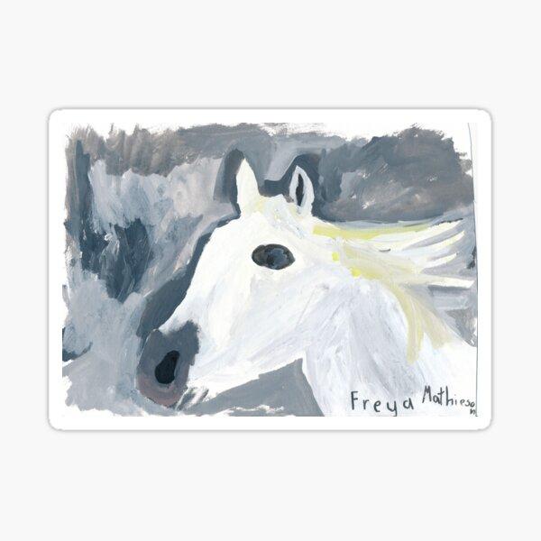 Horse by Freya Mathieson Pegatina