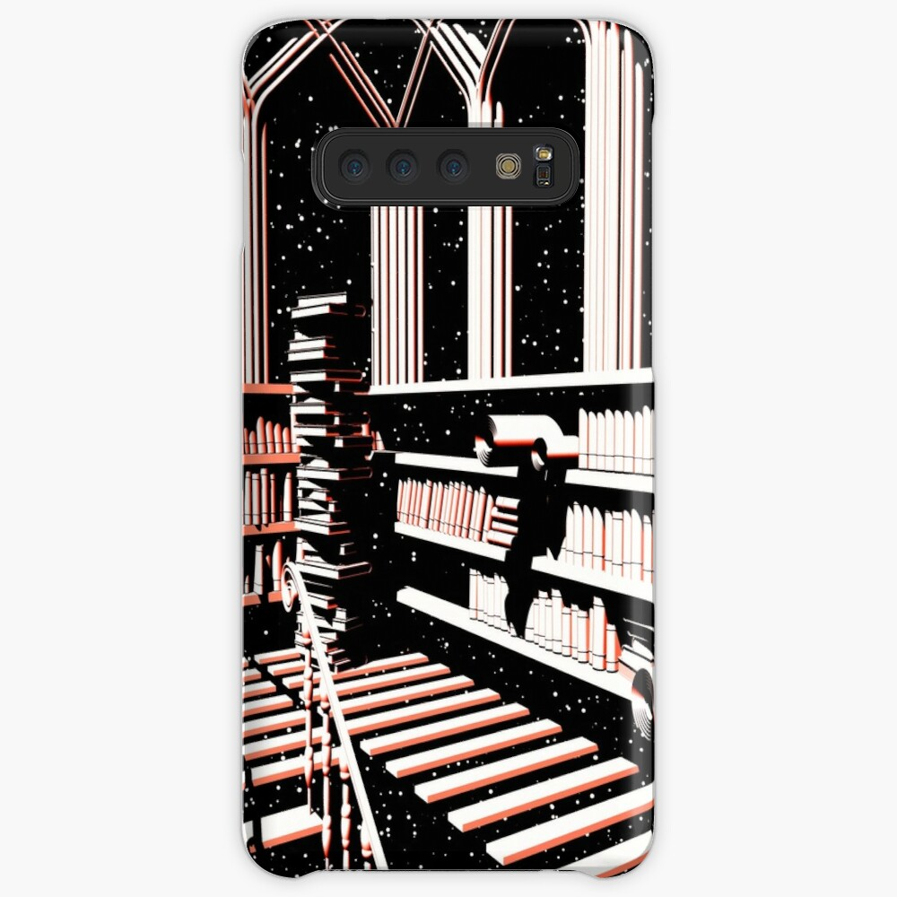 TIME AERIALS The Mind Library Cases & Skins for Samsung Galaxy