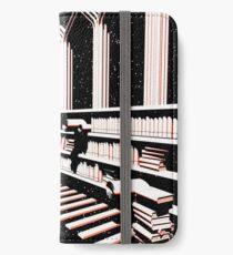 TIME AERIALS The Mind Library iPhone Wallet/Case/Skin