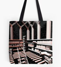 TIME AERIALS The Mind Library Tote Bag