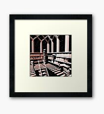 TIME AERIALS The Mind Library Framed Print