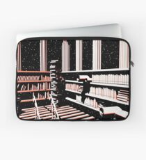 TIME AERIALS The Mind Library Laptop Sleeve