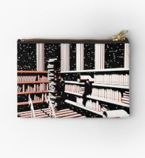 TIME AERIALS The Mind Library Zipper Pouch