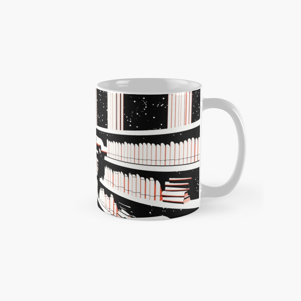 TIME AERIALS The Mind Library Mug
