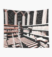 TIME AERIALS The Mind Library Wall Tapestry