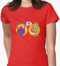 Mr. Purple and Miss Green T-Shirt