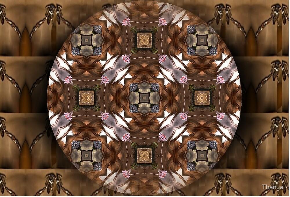 Mandala Marrón by Thanya