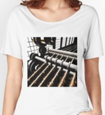 TIME AERIALS Industrial Revolutions Women's Relaxed Fit T-Shirt