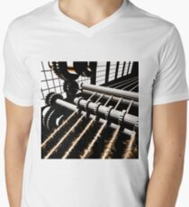 TIME AERIALS Industrial Revolutions Men's V-Neck T-Shirt