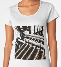 TIME AERIALS Industrial Revolutions Premium Scoop T-Shirt