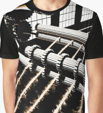 TIME AERIALS Industrial Revolutions Graphic T-Shirt