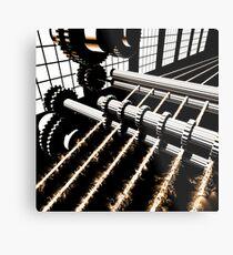 TIME AERIALS Industrial Revolutions Metal Print