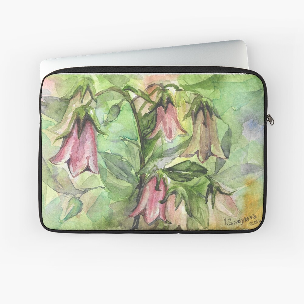 Harebell Laptop Sleeve Front