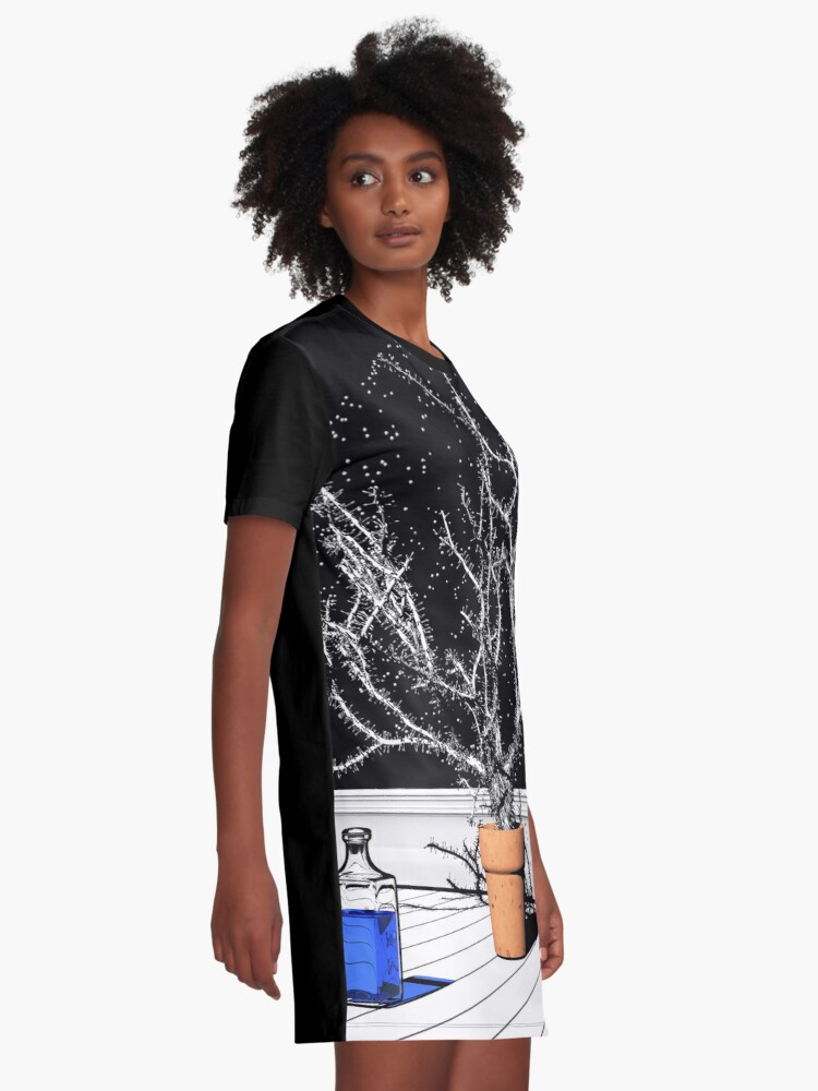 Alternate view of TIME AERIALS Time Aerials Graphic T-Shirt Dress