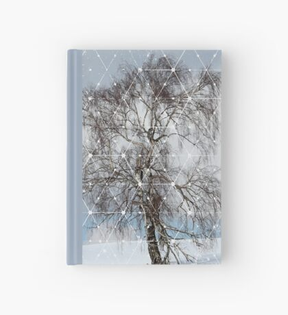 Nature and Geometry - The Sad Tree Hardcover Journal