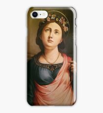 Madonna Italy Oil Painting Photo Masterpiece iPhone Case/Skin