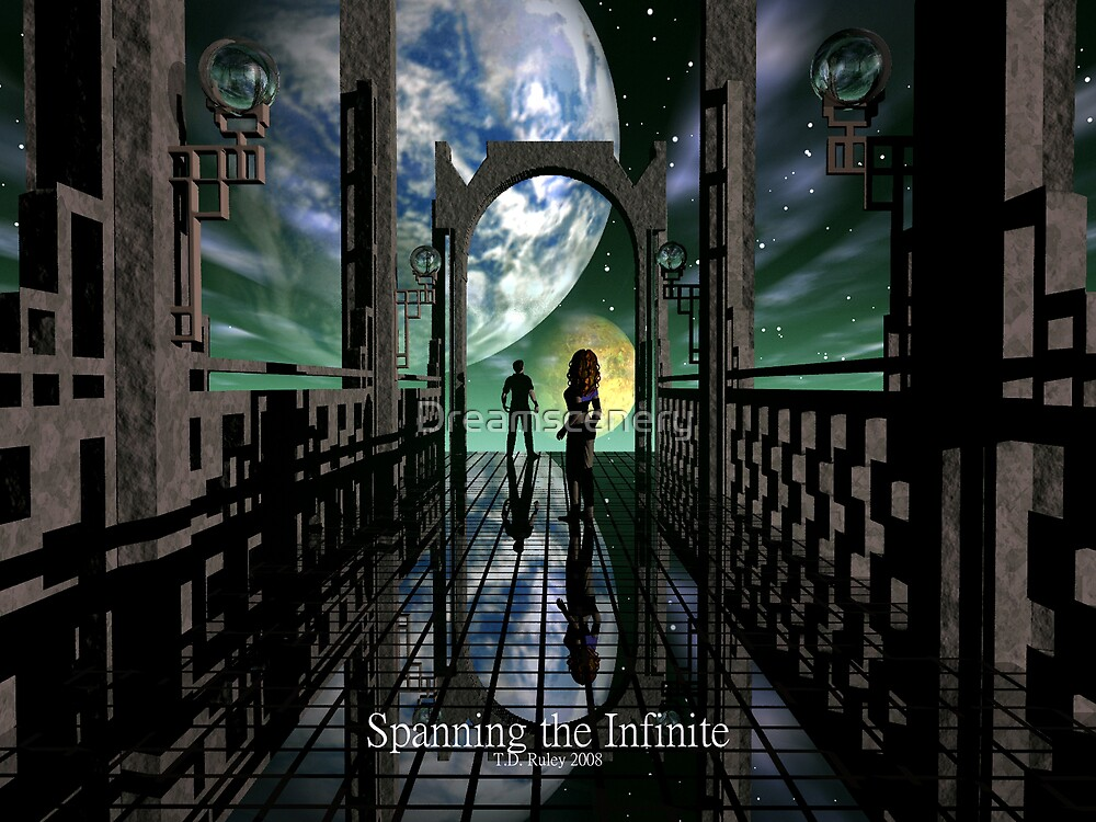 Spanning the Infinite by Dreamscenery