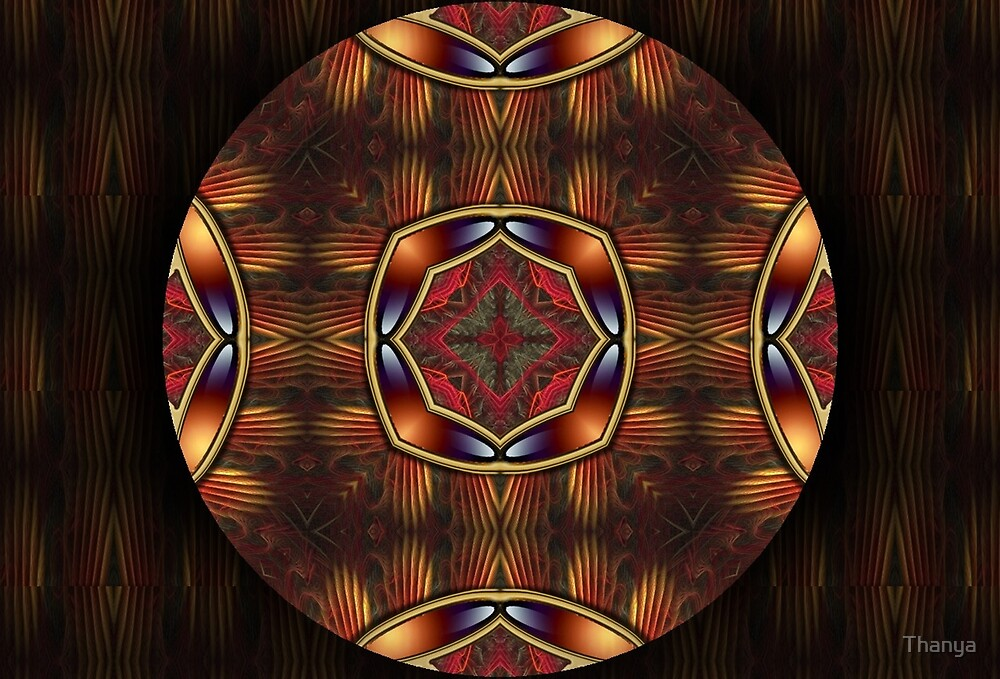 Mandala Oriental 6 by Thanya