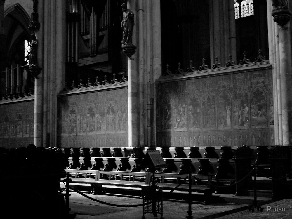 Inside Cathedral by Phoen