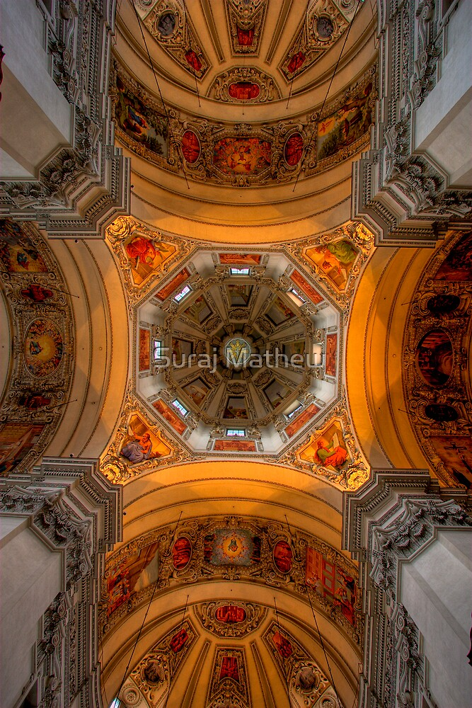 Salzburg Cathedral  by Suraj Mathew