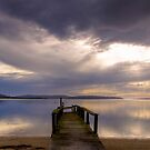 Sunrise Over George's Bay, St Helens, Tasmania by Christine Smith
