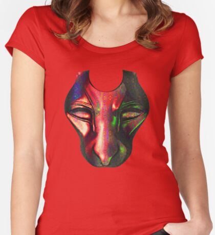 Mask Fitted Scoop T-Shirt