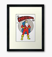 Christmas hero Framed Print