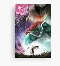 Grocery Shopping Canvas Print
