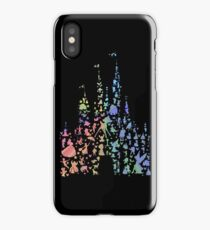 Happiest Castle On Earth (Rainbow Explosion) iPhone Case/Skin